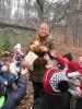 2015-12-17 - Vánoční krmení zvířátek v lesním parku